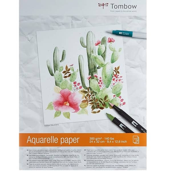 cuaderno tombow lettering